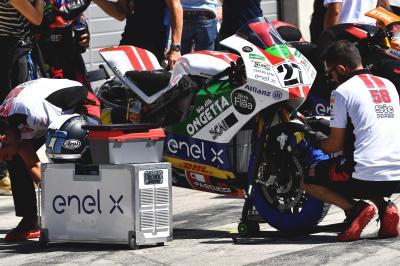 MotoE™: è tutto pronto per tre giorni di test a Jerez