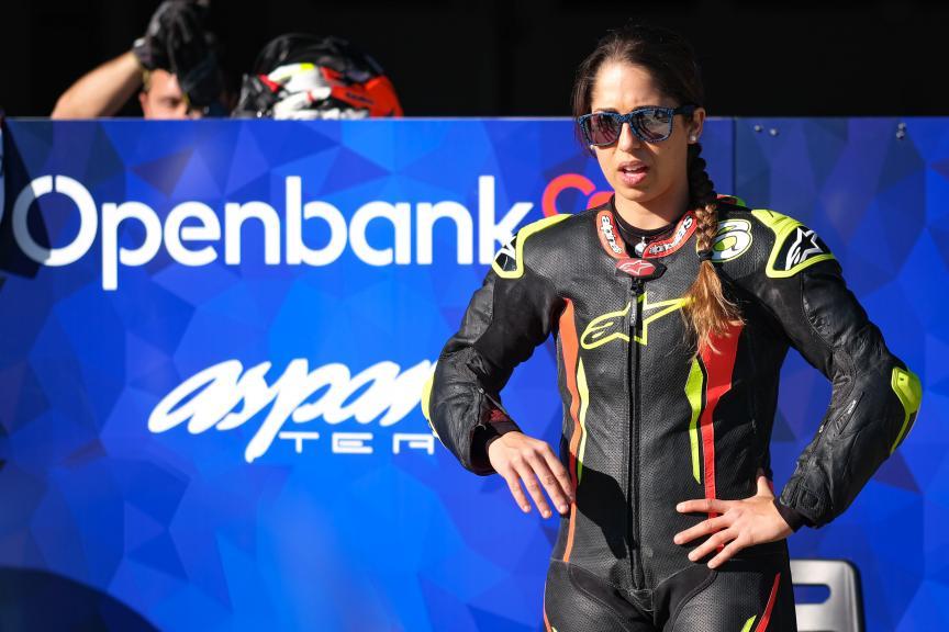 Maria Herrera, OpenBank Angel Nieto Team, Jerez MotoE Test