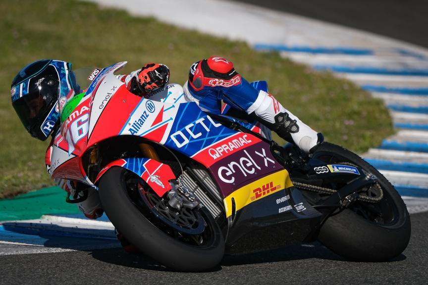 Josh Hook, Octo Pramac Racing, Jerez MotoE Test