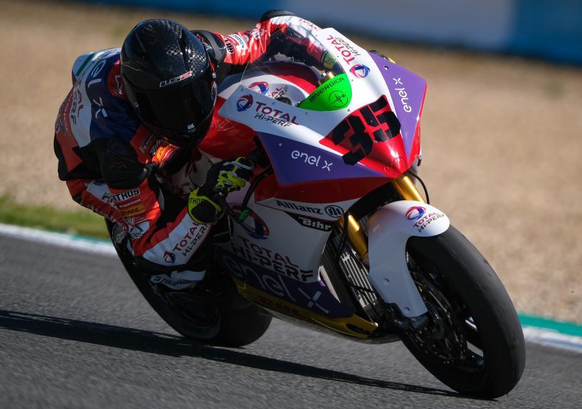 Lukas Tulovic, Tech 3 E-Racing, Jerez MotoE Test