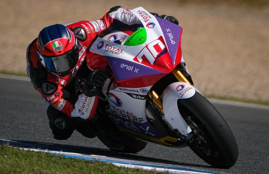 Tommaso Marcon, Tech 3 E-Racing, Jerez MotoE Test