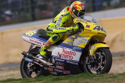 20 years later: Rossi reflects on his premier class debut