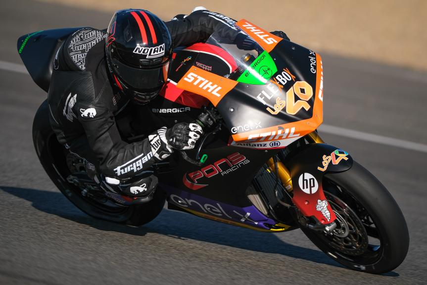 Jordi Torres, Pons Racing 40, Jerez MotoE Test