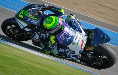 MotoE™ Jerez Test: Granado betters himself to go 2-in-a-row