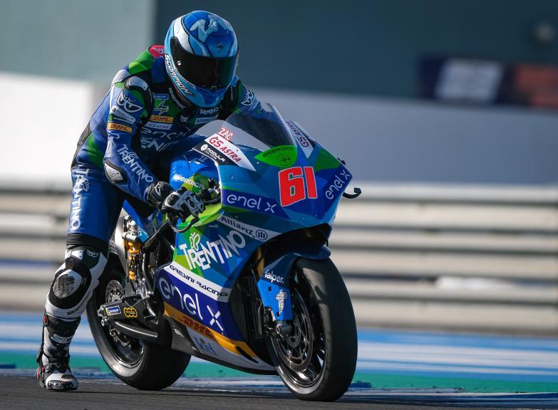 Alessandro Zaccone, Trentino Gresini MotoE, Jerez MotoE Test