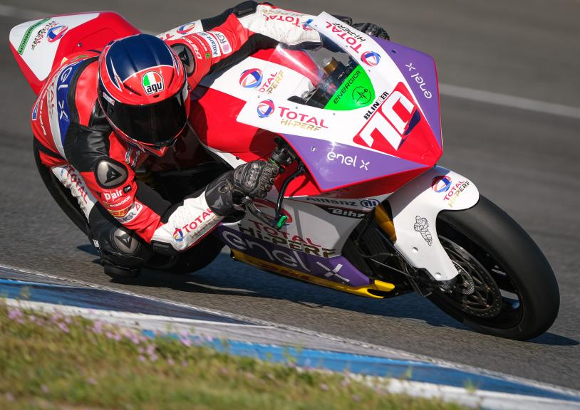 Tommaso Marcon, Tech3 E-Racing, Jerez MotoE Test