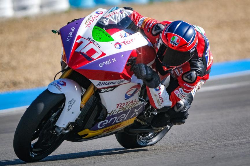 Tommaso Marcon, Tech3 E-Racing, Jerez MotoE Test
