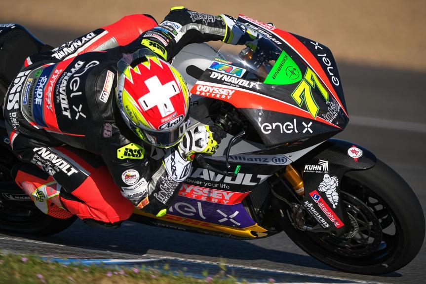 Dominique Aegerter, Dynavolt Intact GP, Jerez MotoE Test