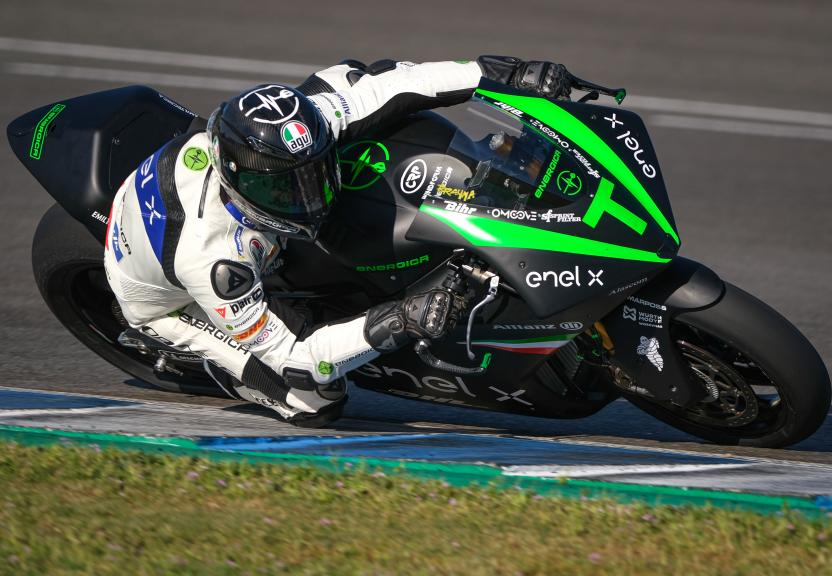 Alessandro Brannetti, Energica Official Tester