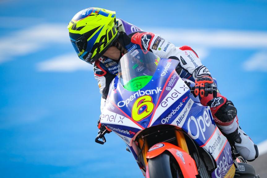 Maria Herrera, Openbank Aspar Team, Jerez MotoE Test