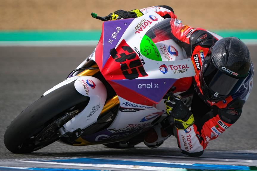 Lukas Tulovic, Tech3 E-Racing, Jerez MotoE Test