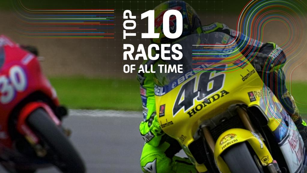 Top 10 races of all time - 2000-UK