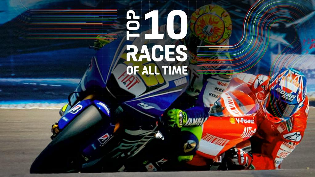 Top 10 races of all time - 2008-USA