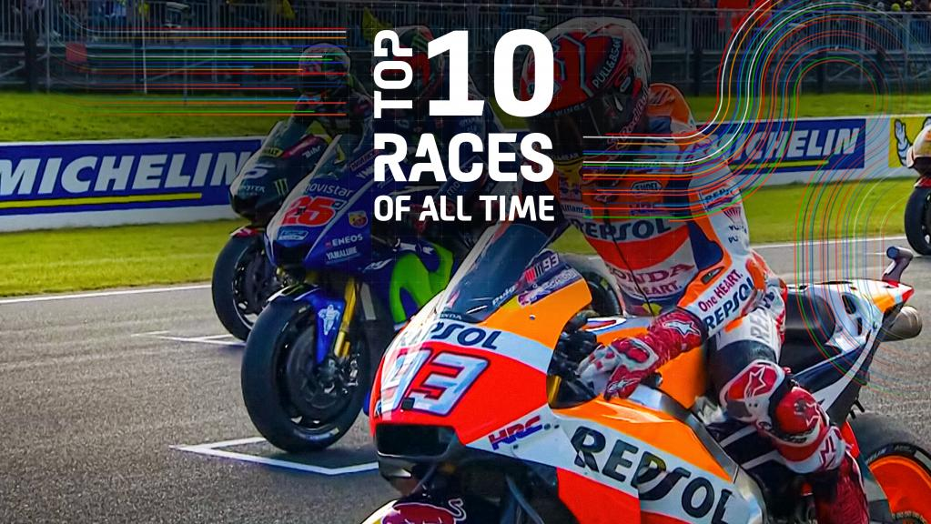 Top 10 races of all time - 2017-AUS