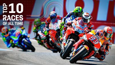 Gratis, le dieci gare più belle della storia del MotoGP™