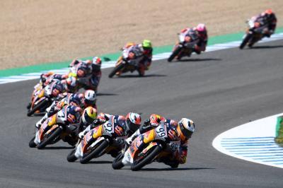 Test repoussé pour la Red Bull MotoGP Rookies Cup !