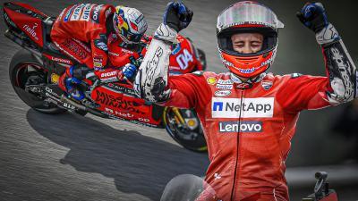 Dovizioso - 'Undaunted' : un film de Red Bull MotoGP™
