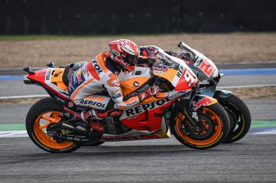 7 quotes from Marquez and DAZN rewatching the 2019 Thai GP