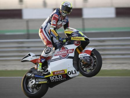 Nicolo Bulega, Federal Oil Gresini Moto2