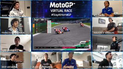 La Virtual Race del MotoGP™, un evento eSports da record