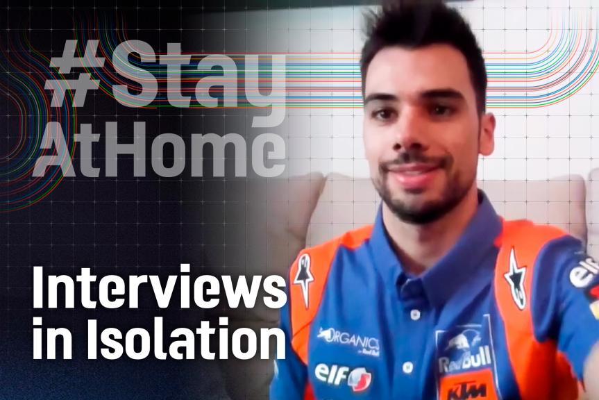 Interviews in Isolation, Miguel Oliveira, EN