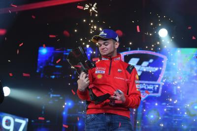 Ducati Corse signs MotoGP™ eSport World Champion AndrewZH