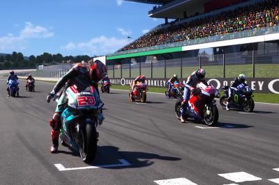 Carrera Virtual 2 de MotoGP™: La parrilla completa