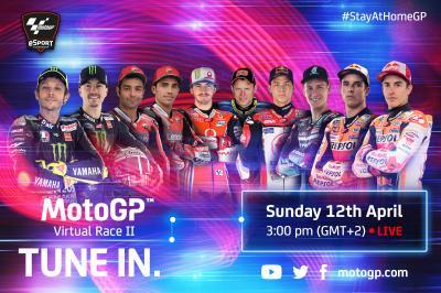 Carrera Virtual 2 de MotoGP™: ¡Prepárate para más!