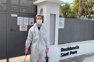 Aegerter se suma a la lucha contra el coronavirus en España