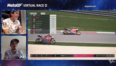 Los Márquez brindan su primera gran pugna en MotoGP™