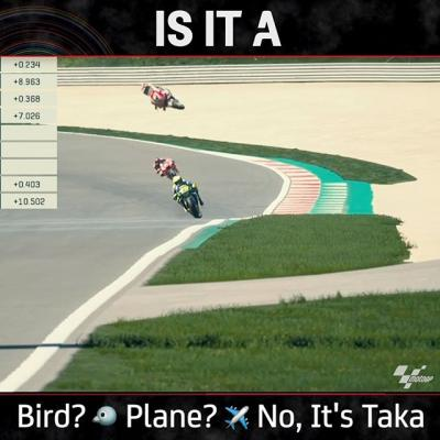 What's that in the sky? @takanakagami virtual bike was sent