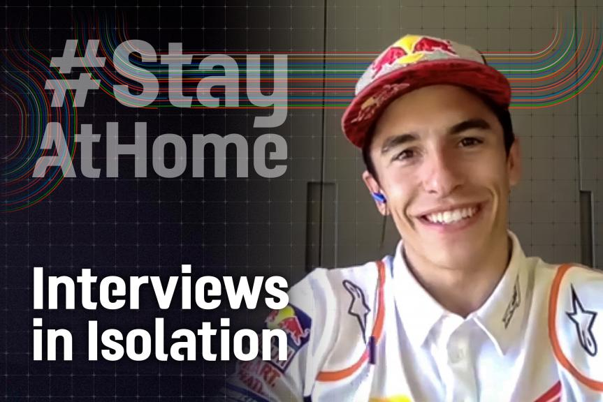 Interviews in Isolation, Marc Marquez, EN