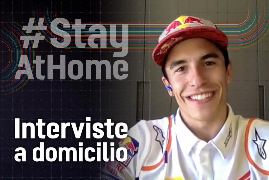 Interviews in Isolation, Marc Marquez, IT
