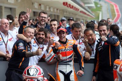 On this day: Marc Marquez first MotoGP™ win