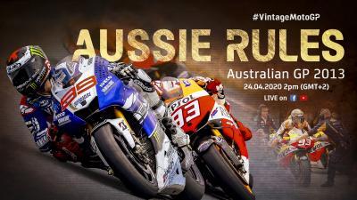 2013 #AustralianGP | Vintage MotoGP