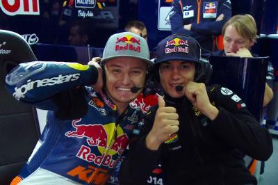 Convivere con Miller è avventuroso come guidare una MotoGP™?