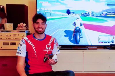Davide Gallina, il nuovo portacolori del Pramac Racing