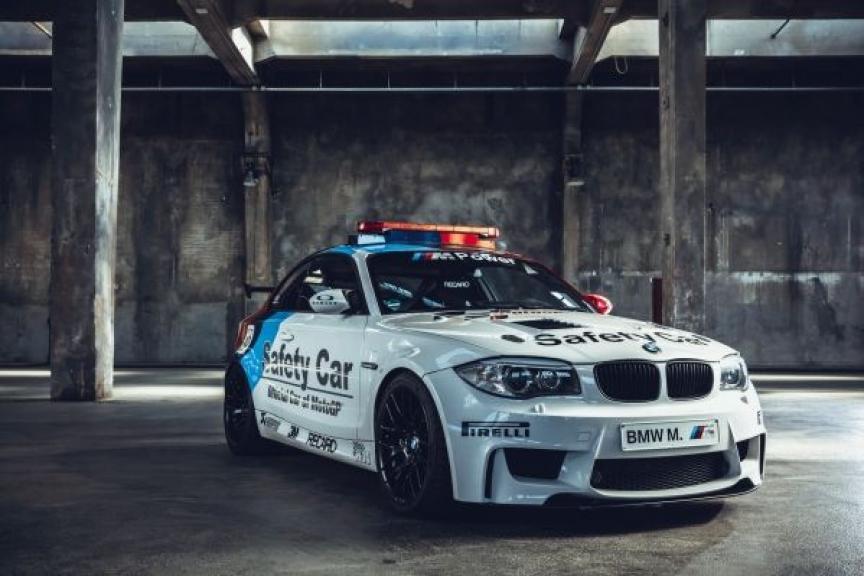 2011 BMW 1 M Coupé Safety Car
