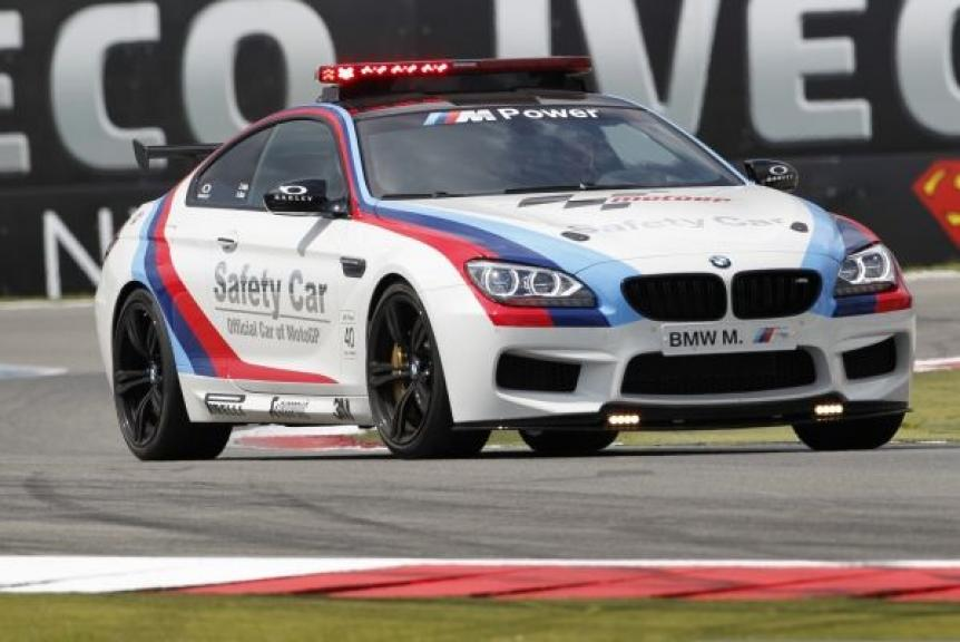 2012 BMW M6 Coupé Safety Car