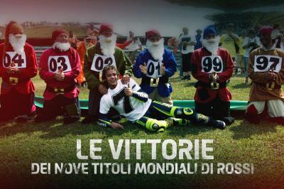 GRATIS: Le celebrazioni dei nove titoli mondiali di Rossi