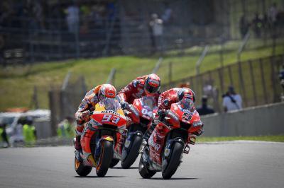 Márquez confirma los contactos por parte de Ducati