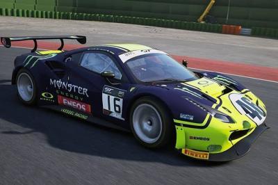 Rossi und Bagnaia traten in der All Stars Racing Night an