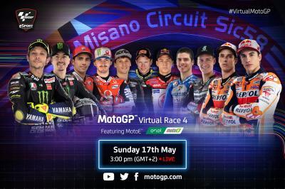 Qui retrouvera-t-on pour cette quatrième course virtuelle ?