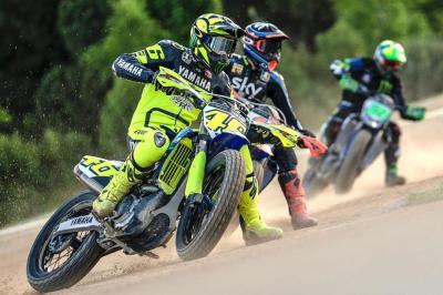 L'entraînement à moto reprend en Italie !