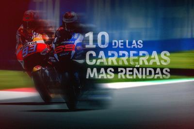 GRATIS: ¡10 de las carreras más reñidas!