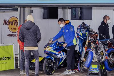 MotoGP™ riders return to training in Andorra