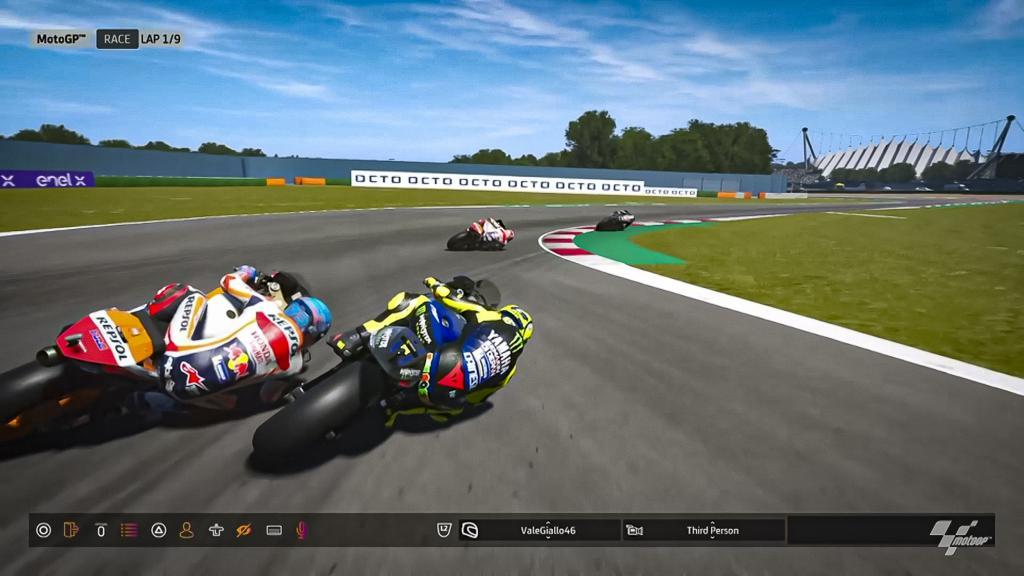 Valentino Rossi, Monster Energy Yamaha MotoGP, MotoGP™ Virtual Race #4