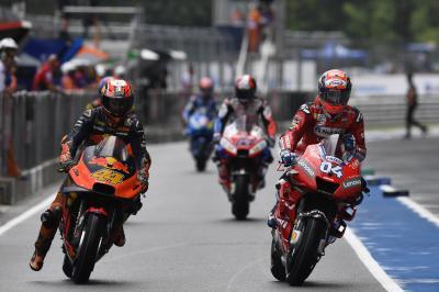 KTM respond to Dovizioso 2021 rumours