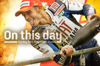 On This Day: Rossi equals Nieto's 90 victories
