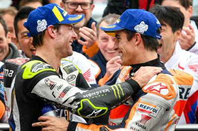 Crutchlow offers insight into Marquez' 'spectacular' data